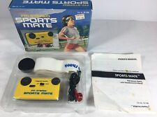 Vintage Realistic AM/FM Stereo Sports Mate 12-138 Portable Pocket Radio Sport