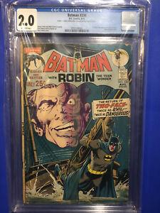 Batman 234 CGC 2.0 1st APPEARANCE Silver Age TWO-FACE Neal Adams 1971 DC Comics