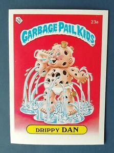 Drippy Dan 23a UK Garbage Pail Kids Series 1(1985)Topps~NMT/MINT~Pack Fresh