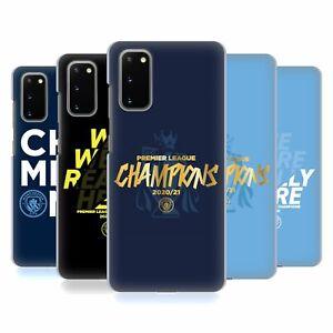 MANCHESTER CITY MAN CITY FC 2021 LEAGUE CHAMPIONS BACK CASE FOR SAMSUNG PHONES 1