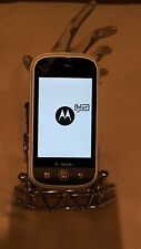 MOTOROLA CLIQ MB200 Android COLOR  ( WHITE ) T-MOBILE  clean IMEI