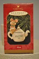 Hallmark - Mom - Mouse on Teapot - 1997 Keepsake Ornament