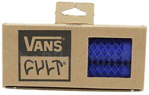 ODI Vans x Cult Flangeless BMX Grips Waffle Design Long 143mm Length Soft Bike