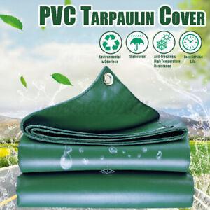 Extra Large Heavy Duty PVC Tarpaulin 450GSM Cover Waterproof Tough Lorry Tarp