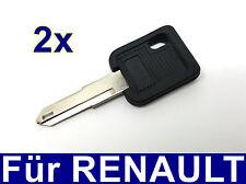 2x Ersatz Schlüssel rohling für Renault ESPACE R18 R19 R21 R25 R5 SUPERCINQUE