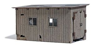 Busch 12381 Dilapidated Engine Shed H0f # New Original Packaging #