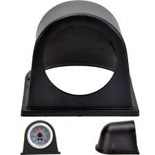 """New 2"""" 52mm Car Single Hole Pod Gauge Meter Mount Holder Cup Black UK Sales"""