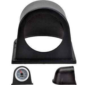 """New 2"""" 52mm Car Single Hole Pod Gauge Meter Mount Holder Cup Black"""