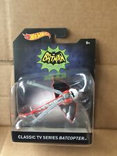 HOT WHEELS DIECAST -Batman Classic TV Series Batcopter 8+ -Combined Postage