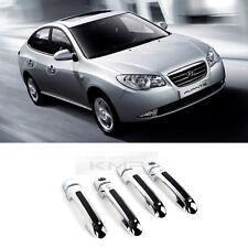 Luxury Chrome Door Catch Handle Molding Cover Trim for HYUNDAI 07-10 Elantra HD