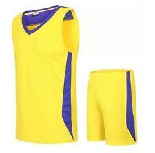 Men's Summer Basketball T shirt Top Tee Sport TrackSuit Suit Pants Shorts