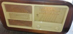 Radio D'epoca a Valvole Telefunken giubileo funzionante