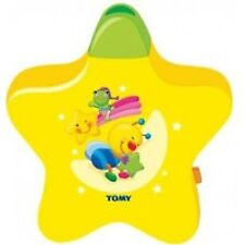 TOMY 2008 Yellow Starlight Dreamshow Baby Cot Lullaby Mobile