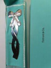 VTG Tiffany & Co Silver Ballet Slippers Envelope Opener BookMark Rare
