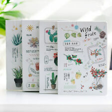 """""""Nature Plants"""" 1pc Journal Notebook Beautiful Diary Freenote Daily Planner Note"""