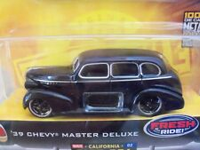 JADA TOYS - DUB CITY - OLD SKOOL - (1939) '39 CHEVY MASTER DELUXE STREET ROD