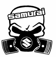 Calavera suzuki samurai  Tuning sticker, auto Fun pegatinas 4x4