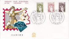 Enveloppe 1er jour FDC n°1194- 1981 - Sabine
