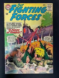 Our Fighting Forces #86 DC Comics August 1964