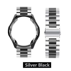 Stainless Steel watch band Strap case For Samsung Galaxy watch 3 41/45mm 42/46mm