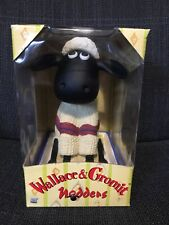 Wallace And Gromit Car Nodder SHAUN Collectible, Official Aardman NEW & BOXED
