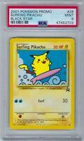 47452703 Mint PSA 9 SURFING PIKACHU #28 │ Black Star Promo │2001 Vintage Pokémon