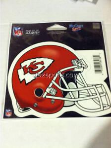 Kansas City Chiefs Helmet Die Cut Magnet