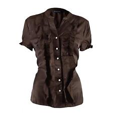 Unbranded Short Sleeve Collarless Tops & Shirts for Women