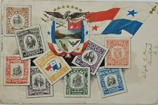 1908 PANAMA EMBOSSED STAMPS POSTCARD A31