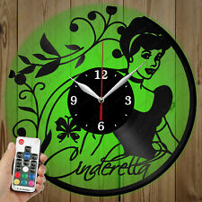 LED Vinyl Clock Cinderella LED Wall Art Decor Clock OriginalGift 2706