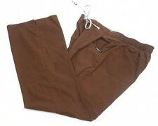 Baby Phat Scrub Pants Size Medium Brown Cargo Bottoms Multi Pockets