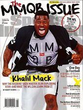 New Sports Illustrated Khalil Mack Oakland Raiders 9/19/16 2016 No Mailing Label