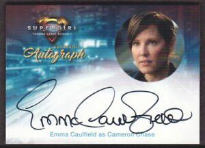 2018 Supergirl Season 1 Autograph Card #EC Emma Caulfield as Cameron Chase Auto