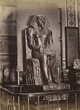 Egypte Le Caire Musée de Boulaq Photo Albumine Tirage vers 1890 en petit format