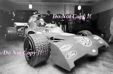 Ronnie Peterson STP March 721 F1 Launch 1972 Photograph