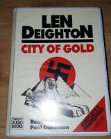 CITY OF GOLD - LEN DEIGHTON - CHIVERS CASSETTE AUDIO BOOK - COMPLETE UNABRIDGED