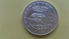 5 euros san marino 2008 sacado de cartera plata