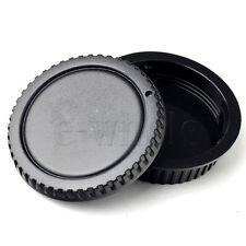 4pcs Camera Body + Lens Rear Cover Cap For Canon EOS 700D 100D 70D 650D HM