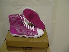 Women Ugg Australia Lavender Johney Butterfly Hi Top Sneaker,size 4 Youth
