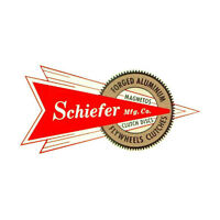 Schiefer Mfg Co Flywheels Clutches Vintage Hot Rat Rod Drag Racing Decal Sticker