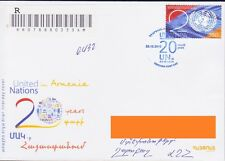 ARMENIA IN UNITED NATIONS  REGISTERED FDC POSTED TO NAGORNO KARABAKH 2012 R1082