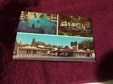 Old West Motel Las Vegas Blvd Las Vegas Nevada Swimming Pool Vintage Postcard