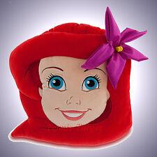 Disney Parks Princess Ariel Little Mermaid Face Plush Pillow *Parks Exclusive*