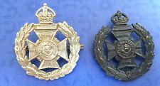 The Rifle Brigade ww2 badges metal set x2 vvgc