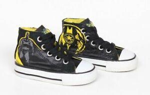 Converse All Star Batman Chuck Taylor Hi Top Boys Baby Toddler Shoes Size 4