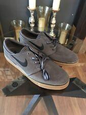 Nike SB Zoom Stefan Janoski Skate Shoes Gray Gum Sole 333824-069 Men's Sz 12