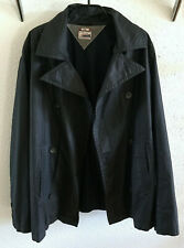 Tommy Hilfiger Denim Crushy Jacket Tommy black Trenchcoat Jacke Kurzmantel Gr. L