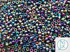 10g Matubo 6/0 Migliore Qualità Seme Perline Ceca MAGIC Blue/Rosa
