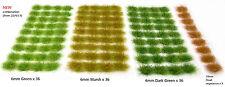 Grass Set #2 - Tufts X117 Sheet Self Adhesive Static Model Railway Scenery