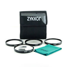 62mm Close up Macro +1+2+4+10 SLR Lens Filter Kit Set